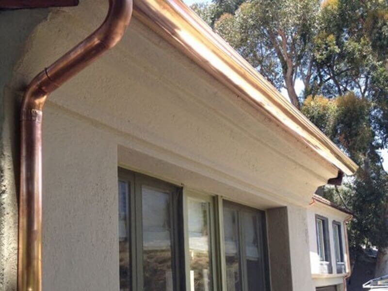 Rain Gutter Sales and Service in Monterey Park, Gutter Installation and Replacement in Monterey Park, Aluminum, Copper, and Seamless Gutters in Monterey Park, Leaders, Rain Chains, Barrels, Headers, and Accessories