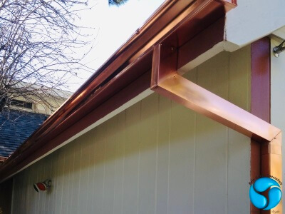 modern seamless ogee copper 6